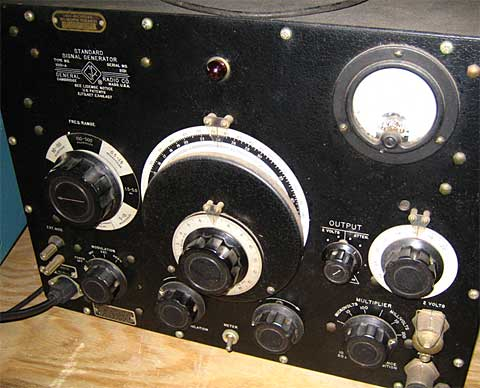 Figure 10:  Standard Signal Generator 1001-A used for loop tuning and receiver builds.