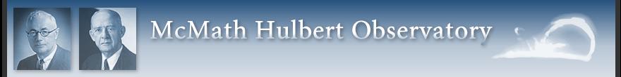 McMath Hulbert Solar Observatory